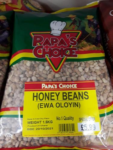 Beans - Honey Beans - PAPAS CHOICE