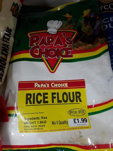 Flour - Rice Flour - PAPAS CHOICE