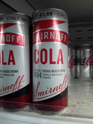 Cola - Smirnoff Cola