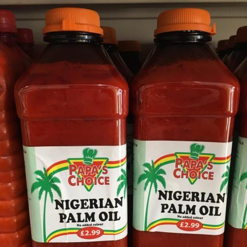 Oil - Nigerian Palm Oil Papas Choice